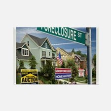 Foreclosure Street Rectangle Magnet