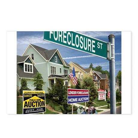 Foreclosure Street Postcards (Package of 8)