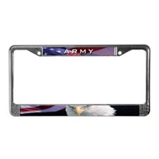 Army & Eagle - License Plate Frame