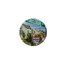 Foreclosure Street Mini Button (100 pack)