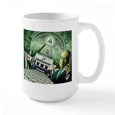 Pyramid Scheme Large Mug