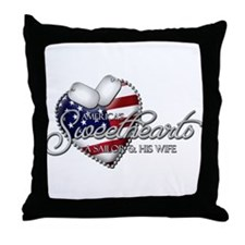 America's Sweethearts - A Sai Throw Pillow