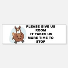 Pugpockets.com- Horse Bumper Bumper Sticker