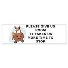 Pugpockets.com- Horse Bumper Sticker
