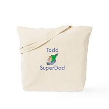 Todd - SuperDad Tote Bag