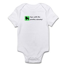 Oy with the poodles Infant Bodysuit