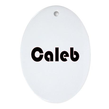 Caleb Oval Ornament
