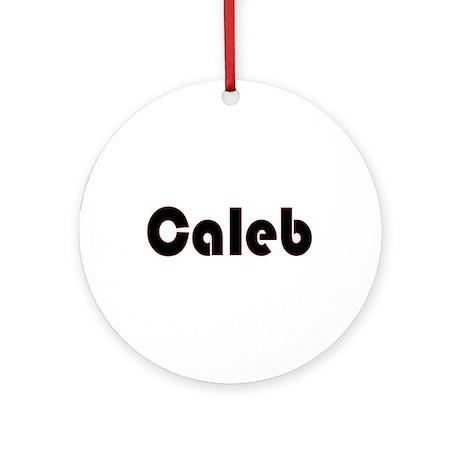 Caleb Ornament (Round)