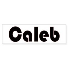 Caleb Bumper Bumper Sticker