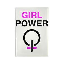 Girl Power Rectangle Magnet