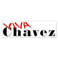 """Viva Chavez"" Bumper Bumper Sticker"