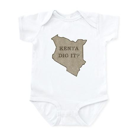 Kenya Dig It Infant Bodysuit