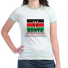 3D Kenya Jr. Ringer T-Shirt