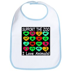 Support The Zoo Bib