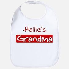 Hallies Grandma Bib