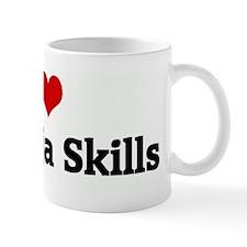 I Love My Ninja Skills Mug