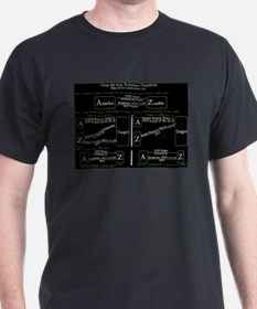 Nmap Idle Scan Hacking T-shirt (Black)