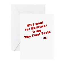 Two Front Teeth Greeting Cards (Pk of 10)