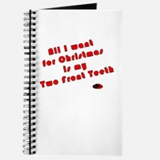 Two Front Teeth Journal