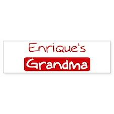 Enriques Grandma Bumper Bumper Stickers