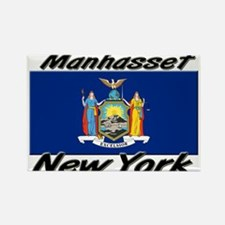 Manhasset New York Rectangle Magnet