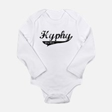 Hyphy Yay Area Infant Creeper Body Suit