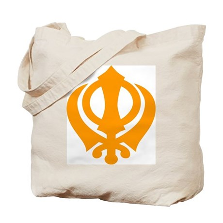 Just Khanda Tote Bag