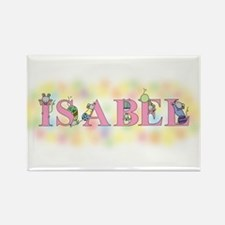 """""""Isabel'' with Mice Rectangle Magnet"""