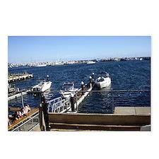 Fremantle Harbour Postcards (Package of 8)