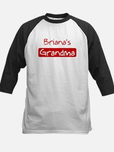 Brianas Grandma Kids Baseball Jersey