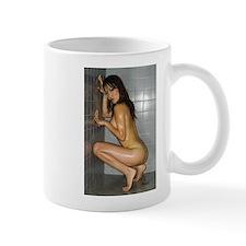 Cover girl Amanda Bach is featured on mug