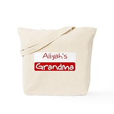 Aliyahs Grandma Tote Bag