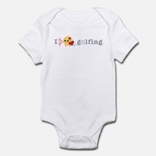 I Love Golf Infant Bodysuit