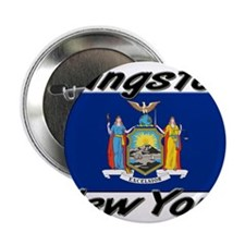"Kingston New York 2.25"" Button"