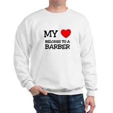 My Heart Belongs To A BARBER Jumper