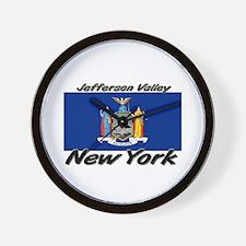 Jefferson Valley New York Wall Clock