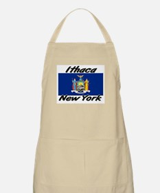 Ithaca New York BBQ Apron