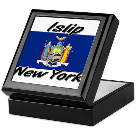 Islip New York Keepsake Box