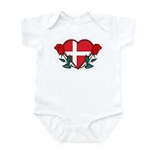 Heart Denmark Infant Bodysuit