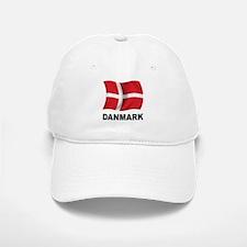 Danmark Baseball Baseball Cap