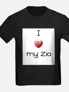 I Love my Zio T-Shirt