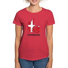 Denmark Map Tee