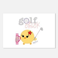 Golf Chick Postcards (Package of 8)