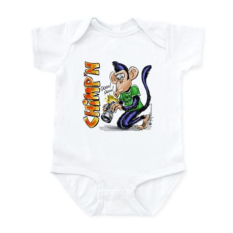Chimping Infant Bodysuit