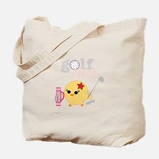 Golf Chick Tote Bag