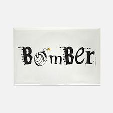 Bomber Rectangle Magnet