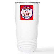 National Debt Travel Mug
