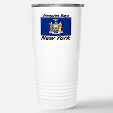 Hampton Bays New York Stainless Steel Travel Mug
