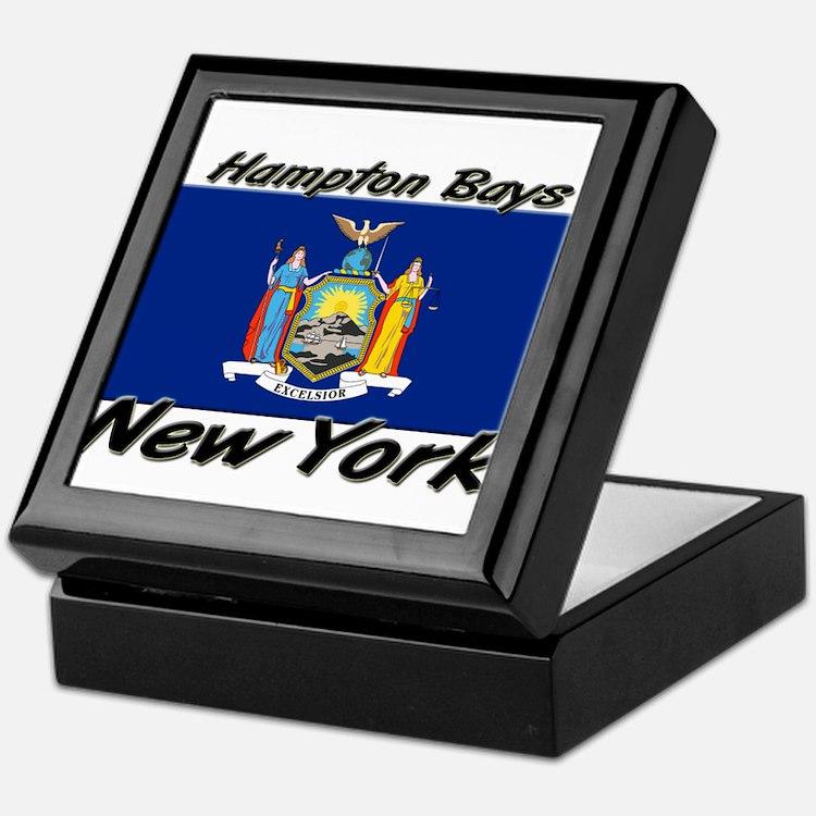 Hampton Bays New York Keepsake Box