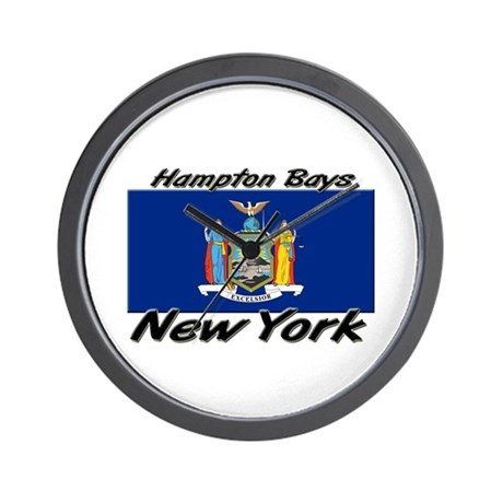 Hampton Bays New York Wall Clock